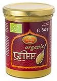 Ayurveda Foods - Organic Premium Bio Ghee 350g, sehr lange Haltbarkeit, Bio-Siegel, Brat- Kochfett, enthält Vitamine A, D, E & K