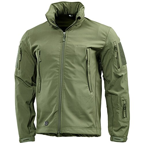 Pentagon Artaxes Hommes Softshell Veste Olive Vert