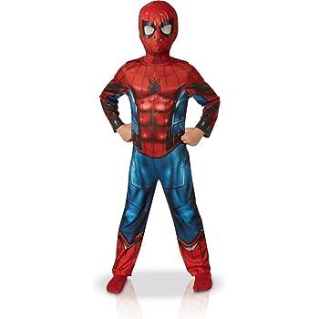 Rubie s-déguisement officiel - Spiderman - Déguisement Classique Spider Man  Homecoming Rouge, Garçon- cc3ac6bd2858