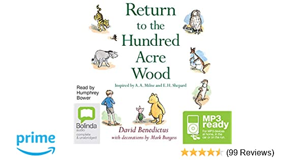 Return To The Hundred Acre Wood Amazoncouk David Benedictus Stewart Bell Humphrey Bower 9781489397560 Books
