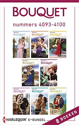 Bouquet e-bundel nummers 4093 - 4100 (Dutch Edition)