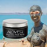 ALVER Dead Sea Mud Maske für Gesicht & Körper - 100% natürliche Spa Qualität - beste Pore Reducer & Minimizer zur Behandlung von Akne, Mitesser und fettige Haut