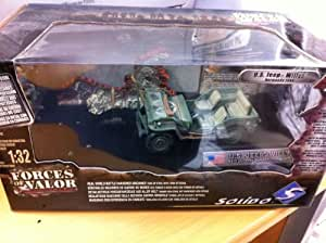 Solido - Forces Of Valor Us Jeep Willys Normandy 1944 1/32