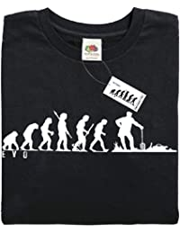 Mans Evolution T-Shirt® EVO Mens Ape to Gardner Allotment Gardening brand new original gift present