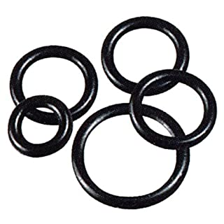 O ring, Viton, British Standard Imperial, ID : 316.87mm, Cross Section : 6.99mm, Colour : Black, Pack Qty. : 1 [per Pack]