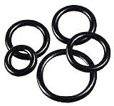 O-Ring, Nitril, metrisch, ID: 62,00 mm, Querschnitt: 6,00 mm, Farbe: Schwarz, Packung 10 Stück pro Packung.
