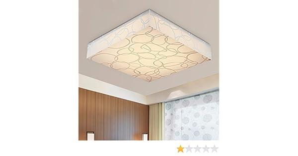 Plafoniere Quadrate Led : Led plafoniera quadrata della semplice e moderno luci soggiorno