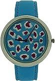 ZAZA London LLB851 blue - Reloj para mujeres, correa de cuero color azul