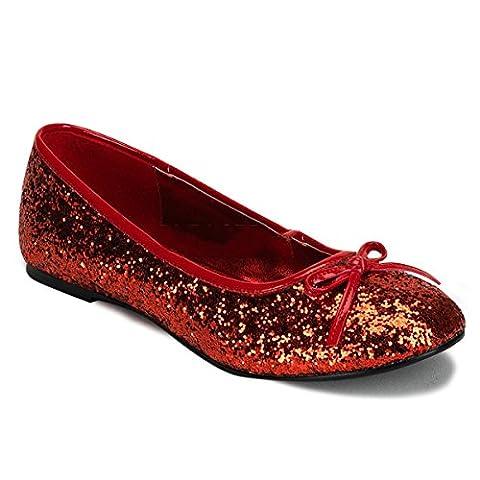 Funtasma STAR-16G - Halloween costume shoes carnival, US-Damen:EU-43 / US-12 / UK-9