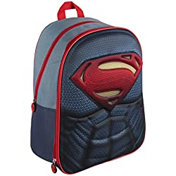 SUPERMAN Mochila Superman Logo Azul