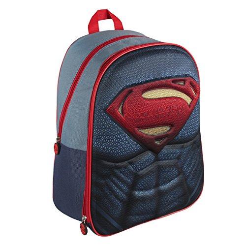 DC 210000162140cm Superman 3D Effekt Anzug Rucksack (groß)