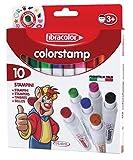 Fibracolor - colorstamp - 10 pennarelli stampini
