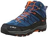 CMP Rigel, Stivali Da Escursionismo Alti Unisex - Bambini, Blu (Denim L580_11), 32