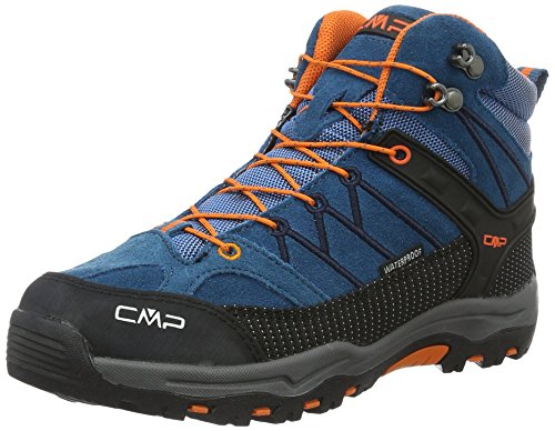 CMP Rigel Mid WP Unisex-Kinder Trekking-& Wanderschuhe, Blau (Denim L580_11), 31 EU (Junge Wasser)