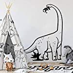 zzlfn3lv Large Diplodocus Dinosaur Wall Decal Boy Room Nursery T Rex Dinosaur Animal Wall Sticker Kids Room Vinyl 86 * 56cm