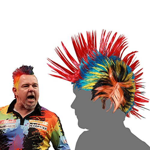 Red Dragon Peter Wright Snakebite Unter dem Motto Perücke