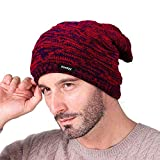 Knotyy Men's & Women's Combo Of Woolen Beanie Caps (Pack Of 2_Multicolor)
