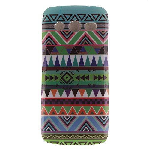 BONROY ® Coque pour Samsung Galaxy Core LTE/SM-G386F G3518 ,Housse en cuir pour Samsung Galaxy Core LTE/SM-G386F G3518 ,imprimé étui en cuir PU Cuir Flip Magnétique Portefeuille Etui Housse de Protection Coque Étui Case Cover avec Stand Support Avec des Cartes de Crédit Slot et Fonction Support pour Samsung Galaxy Core LTE/SM-G386F G3518