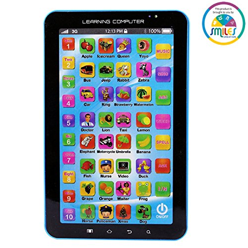 Smiles Creation P1000 Kids Educational Learning Tablet Computer