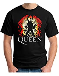 35mm - Camiseta Hombre - Queen - Freddie Mercury - T-Shirt