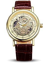 Disfrutar de pulsera Relojes Cronógrafo Automático resistente al agua reloj deportivo para vacaciones de verano playa Sport manecillas luminiscentes. Reloj hueca 3