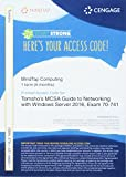 MindTap Networking, 1 term (6 months) Printed Access Card for Tomsho's MCSA Guide to Networking with Windows Server 2016, Exam 70-741 (MindTap Course List)