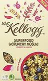 W.K Kellogg Superfood Crunchy Müsli Cranberry und Linseeds, 400 g