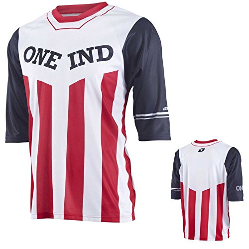 Preisvergleich Produktbild 2015 One Industries Mens Atom Jersey Crook Red Medium