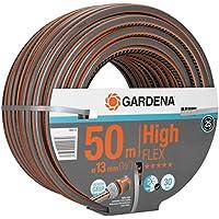 """GARDENA Comfort HighFLEX Schlauch 13mm (1/2""""), 50 m: Gartenschlauch mit Power-Grip-Profil, 30 bar Berstdruck, formstabil, UV-beständig, verpackt (18069-20)"""
