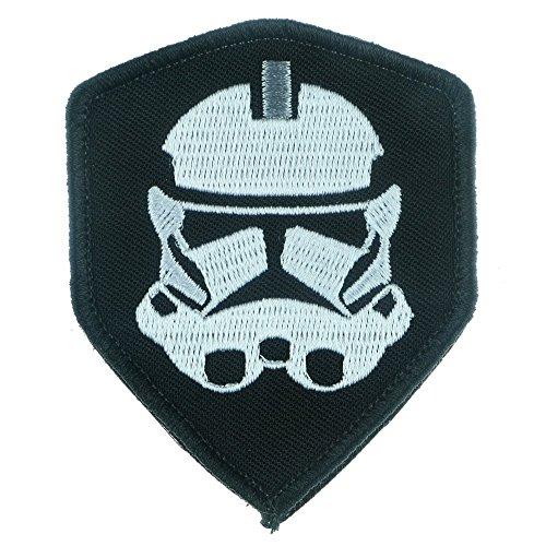 Eisen nähen auf Aufnäher Patch: Star Wars Clone Trooper schwarz -