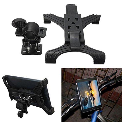 Woopower per 7–25,4cm per Tablet, Supporto Universale per Cellulare Bicicletta Bici Supporto cavalletto Staffa di Supporto Regolabile per iPad PC