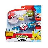 Pokemon Clip & Go Poke Ball Belt Set -...