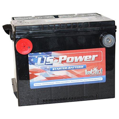 Intact US Autobatterie 60Ah 12V USA Car Starterbatterie - 56010