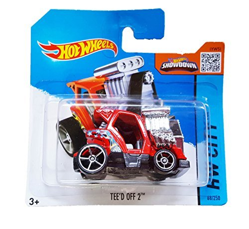 Hot Wheels - HW City 68/250 -Tee'd Off 2 on Short Card by Mattel