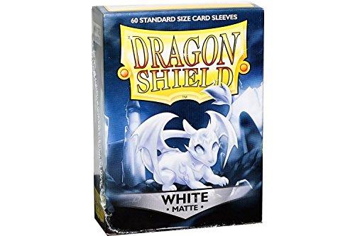 Arcane Tinmen ApS ART11205 Sleeves White Nein Dragon Shield Matte: Weiß (60 Stück), Einheitsgröße (Dragon Shield Sleeves Green)