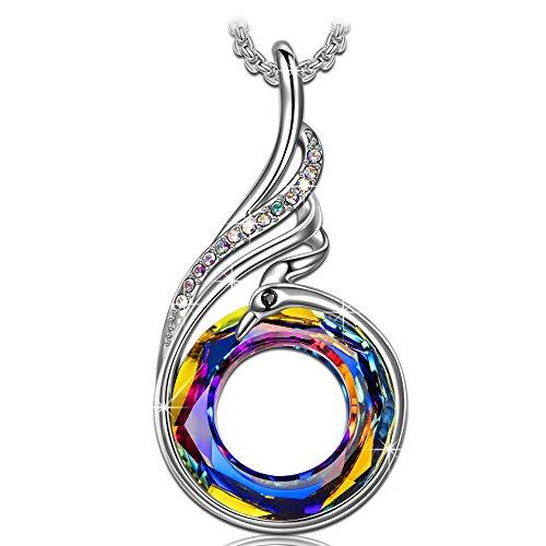 "Kate Lynn ""Nirvana de Phoenix"" Collar Mujer Colgante – Cristales Swarovski®"
