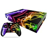 #5: Elton Bright Colors 3M Skin Decal Sticker For X Box One X Console & Two Controllers
