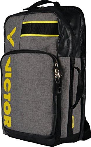 Victor rucksack br3010 grey, zaino unisex, grigio/giallo, taglia unica