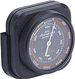 hr-imotion Höhenmesser/mobiles Barometer [Kompakt, Selbstklebend, Inkl. Halterung] - 10310501