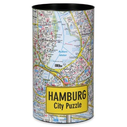Extragifts City Puzzle - Hamburg