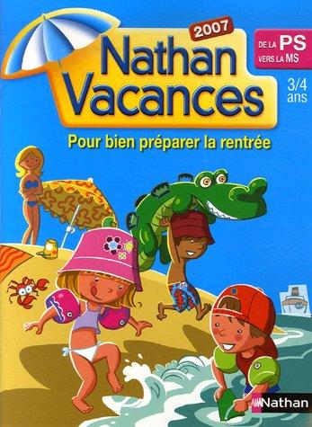 Nathan Vacances de la Petite Section vers la Moyenne Section : 3-4 Ans