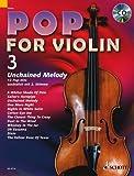 Pop for Violin Band 3 inkl. CD - 12 tolle Songs von Cat Stevens, Phil Collins, Procol Harum u.a. für 1-2 Geigen arrangiert (Noten)