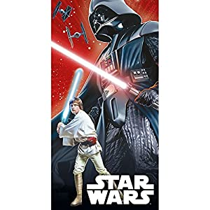 Star Licensing 45354/Strandtuch Star Wars 140/x 70/x 0.5/cm Mehrfarbig 100/% Baumwolle