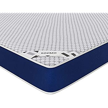 Amazon Brand - Solimo Memory Foam King Size Mattress for Superior Back Care (78x72x6 inches)