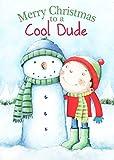 Weihnachtskarte–Cool Dude