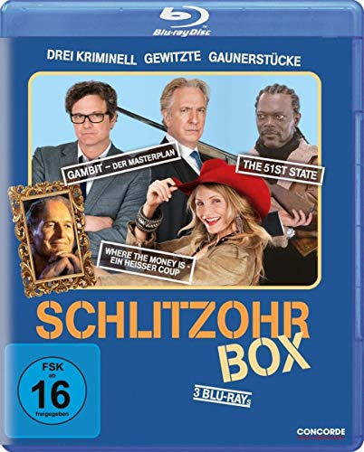 Schlitzohr - Box [Blu-ray]