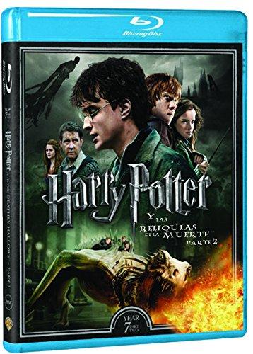 Harry Potter Y Las Reliquias De La Muerte Parte 2 - Nueva Carátula [Blu-ray]