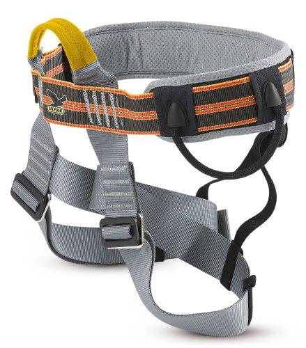 SALEWA Klettergurt Via Ferrata Comfort, Anthracite/Orange, One size, 00-0000000791