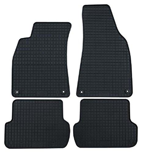 Paßform Gummi Fußmatten Gummifußmatten 4-teiliger Satz für Mercedes B-Klasse W246 ab 11/2011 Original Qualität Auto Gummimatten Tuning 4-teilig schwarz (Mercedes E-klasse Fußmatte)