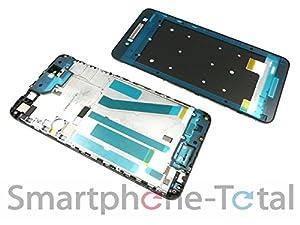 NG-Mobile HTC Desire 728G Front Gehäuse Cover für Display Kleber, schwarz